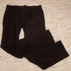Black H&M slim fit pants